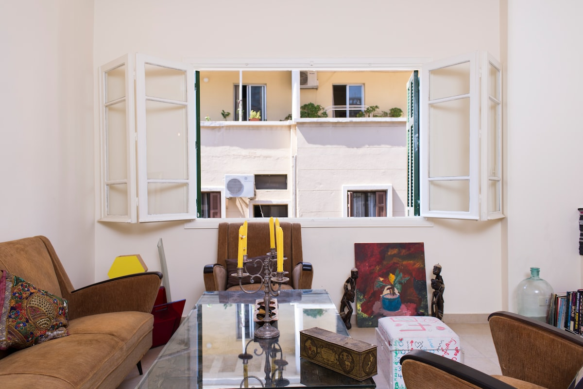 Old Charm Beirut Terraced Apartment
