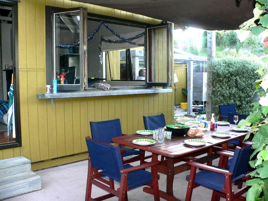 Waipu Cove bach - Waipu - Casa