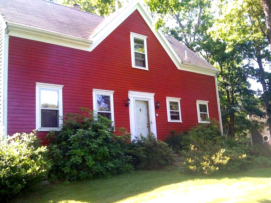 CapeCod w pool table, bikes wk2 Bch - Bourne - Huis