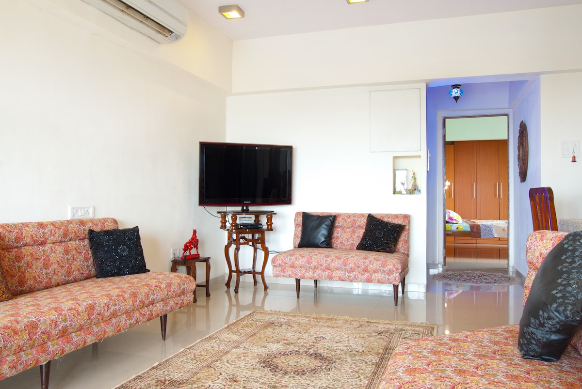 Entire 3bed and 3bath  South Mumbai
