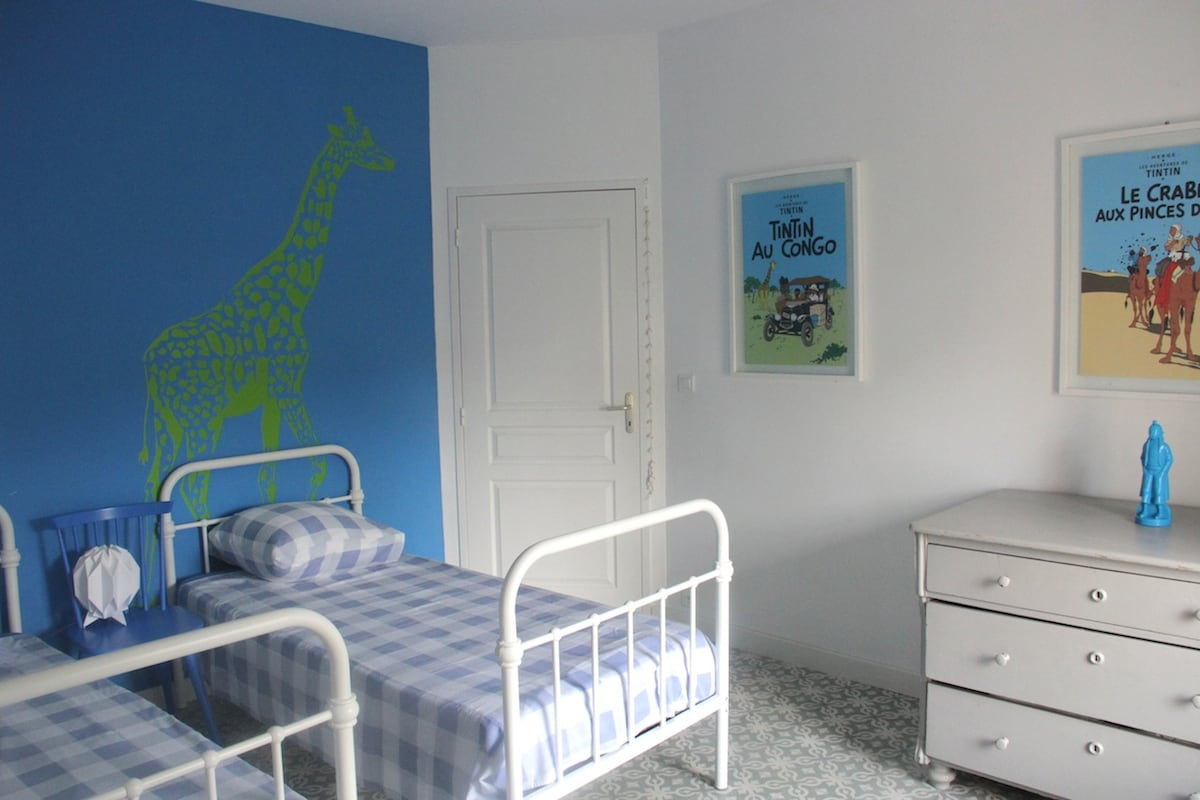 bedroom second floor