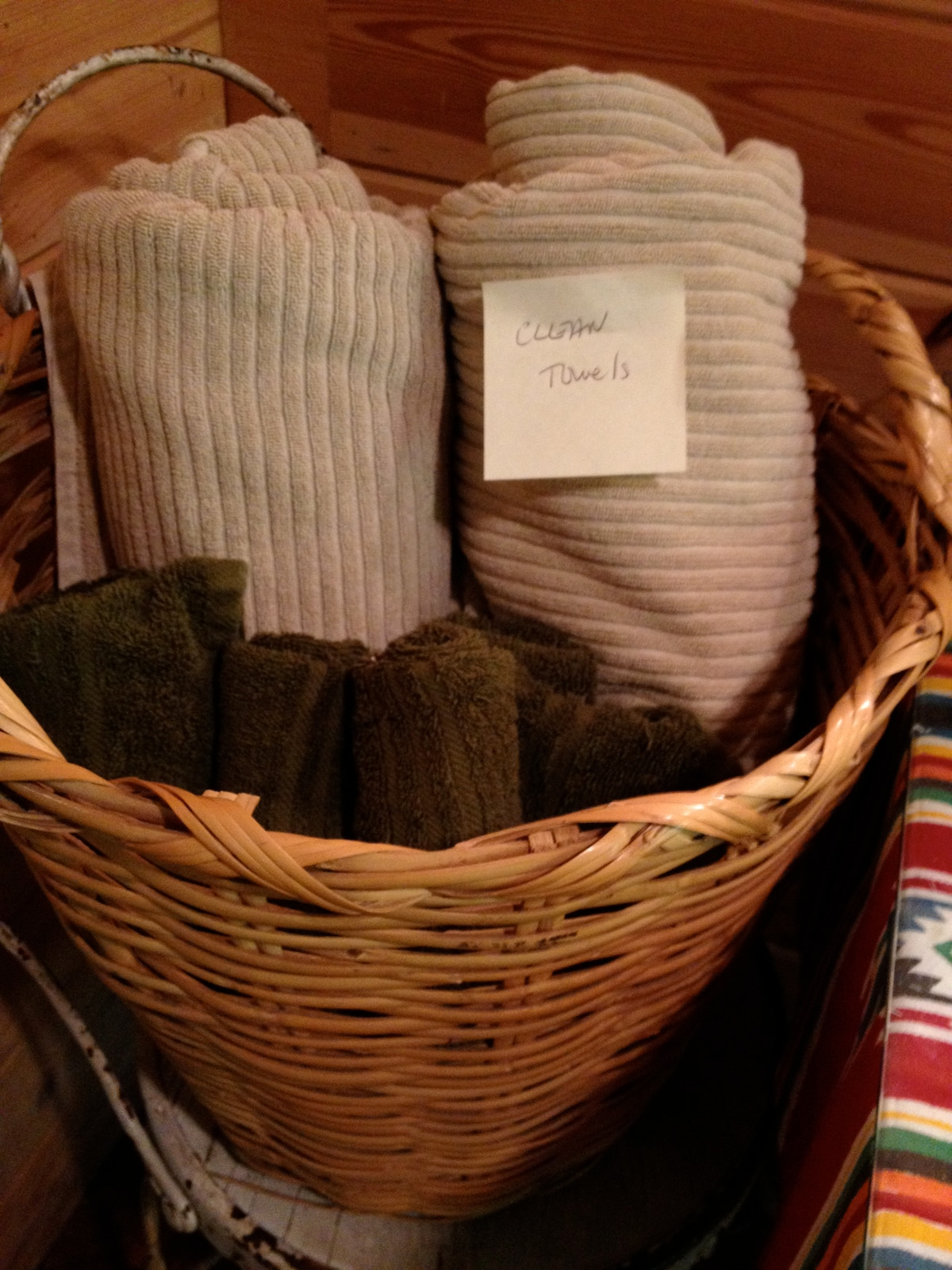 fresh towels for you