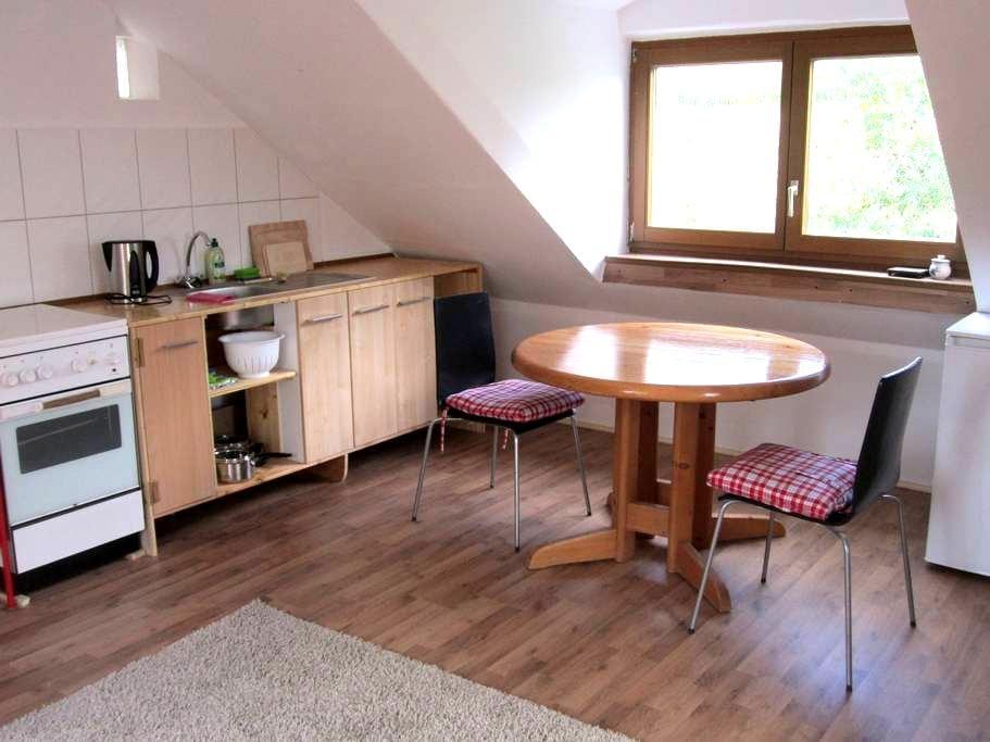 Ferienwohnung im Grünen - Wolferstadt - Apartamento
