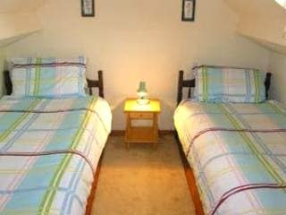 The other upstairs bedrooms. Cosy and bright.