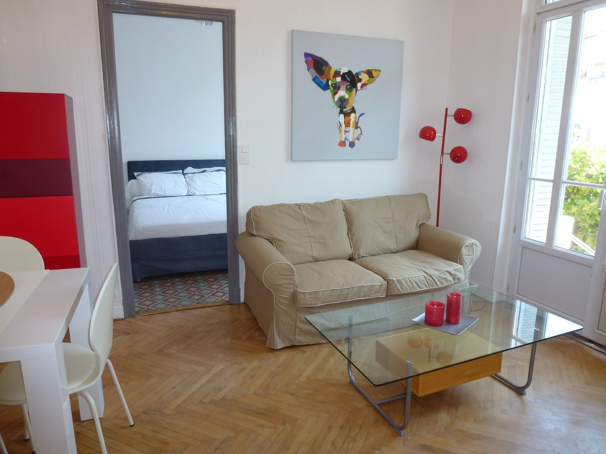 Charming flat close to Nice center