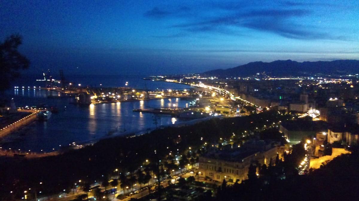 Habitación en el centro de Málaga#