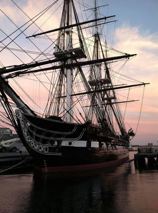 "USS Constitution, ""Old Ironsides"" nearby our neighborhood of Charlestown, Boston's oldest neighborhood!"