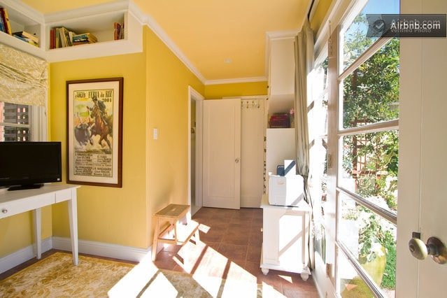 Charming cottage studio has room for two more adults!
