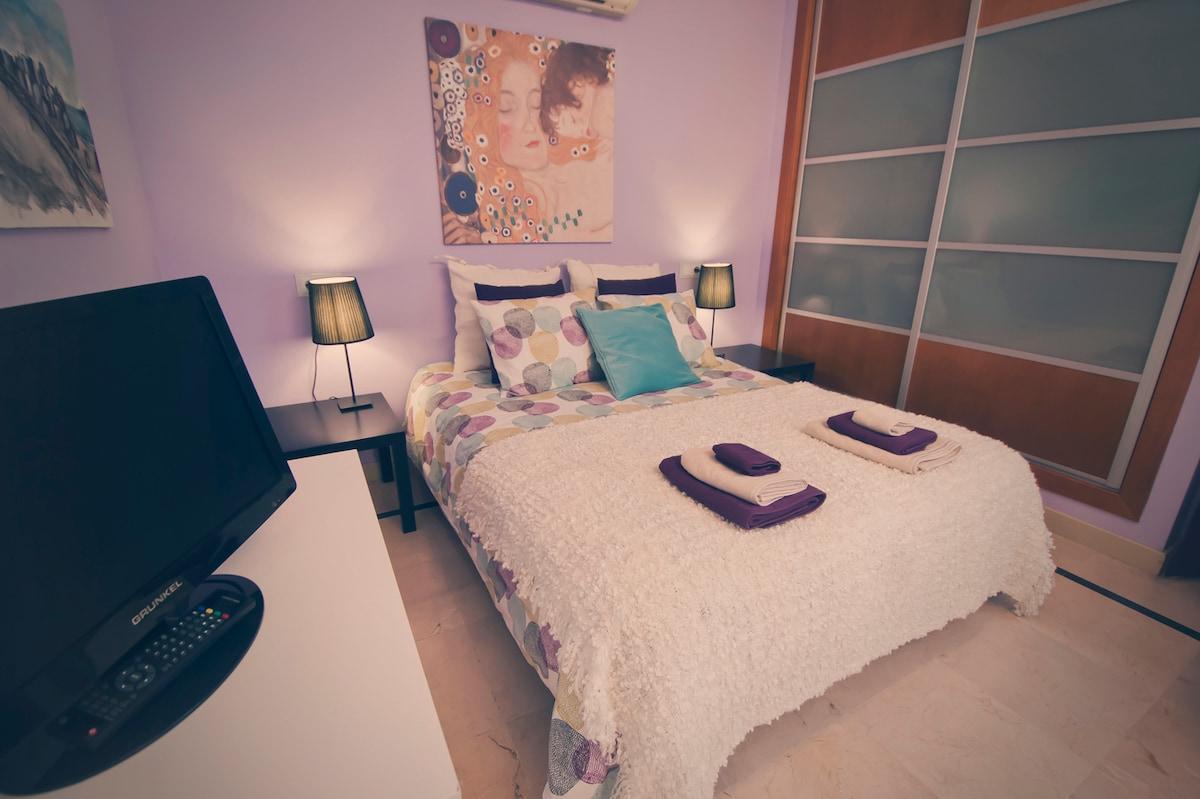 Bonito apartamento-suite-independte