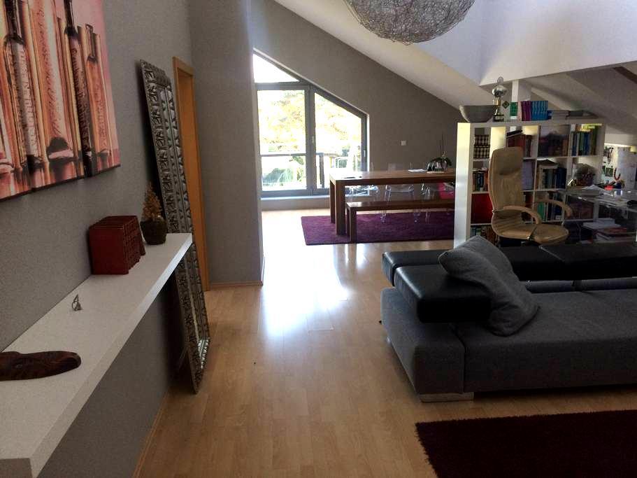 loftähnliche Wohnung 25min bis Düsseldorfer Messe - Oberhausen - Διαμέρισμα