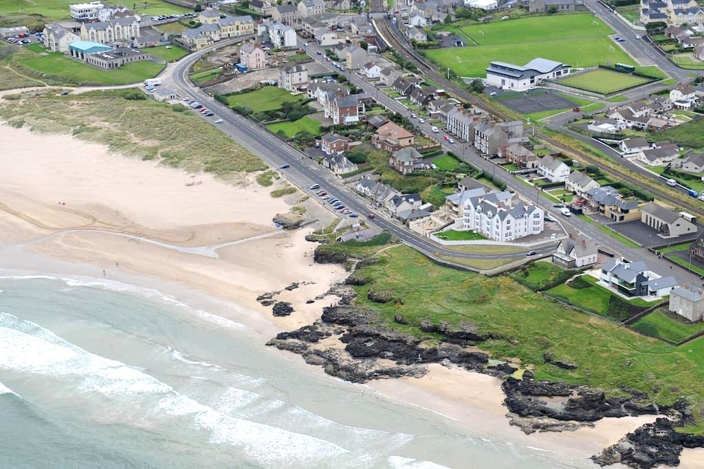 Luxury Apartment, The Promenade, Castlerock - Castlerock - Lejlighed