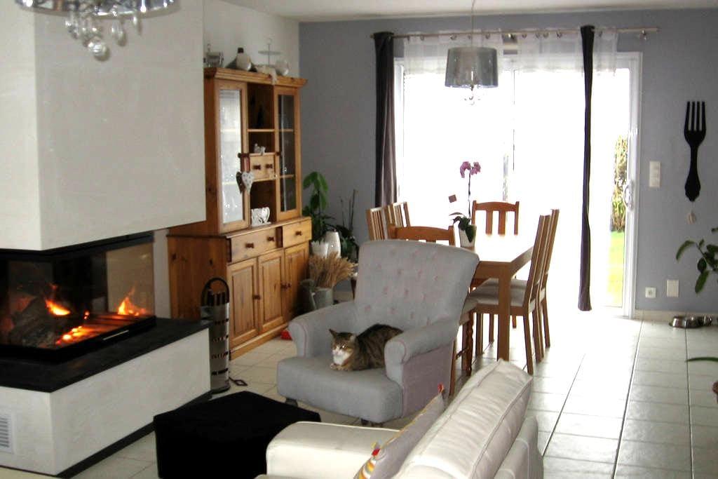 Belle chambre au calme à 10mn à l'ouest de Rennes - Saint-Gilles - Hus