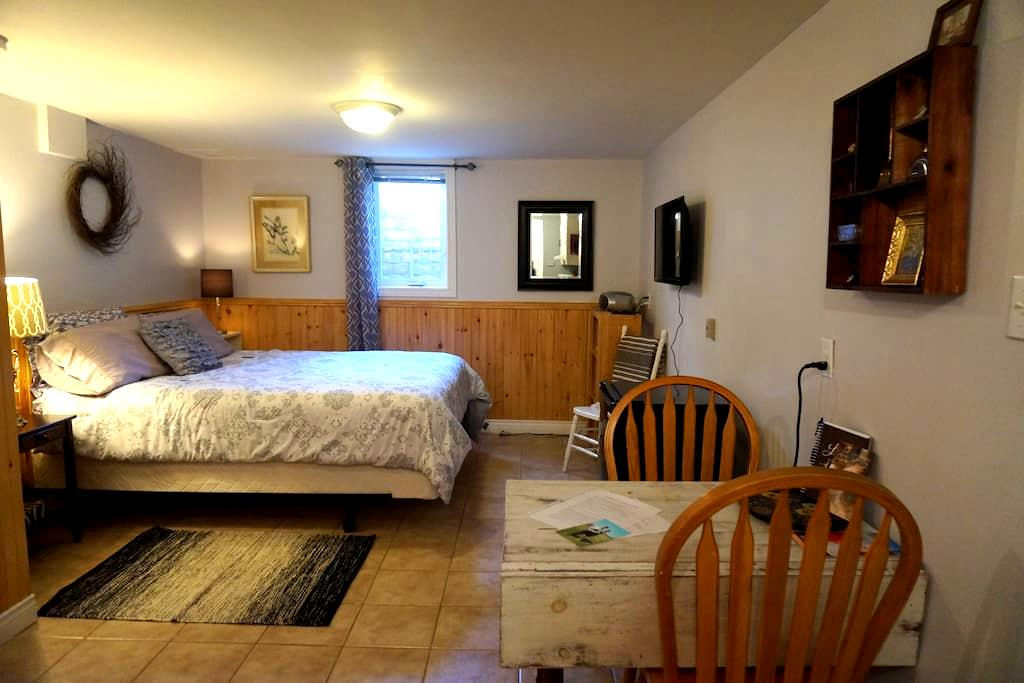 Charming Studio Apt in the City - Charlottetown