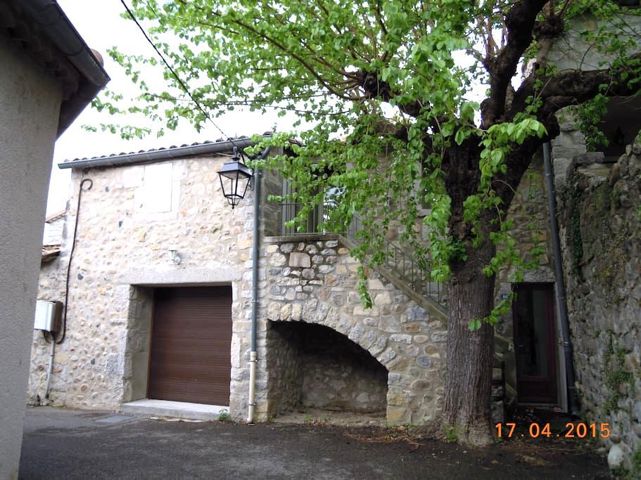 Maison restaurée confortable - Pradons - Haus