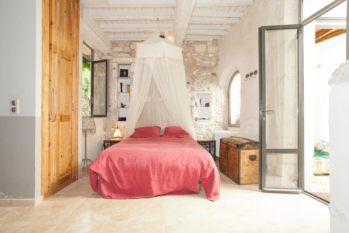 Studio + patios, designer house