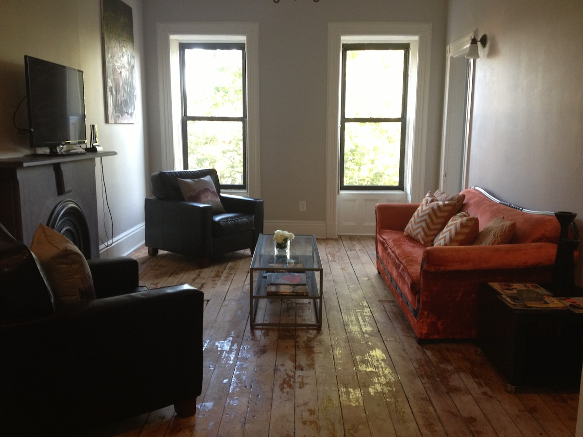 Living Room full of natural Light