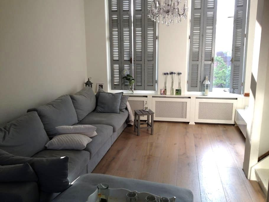 DosFlores: Lovely 2BR for 3, centre + 2 bikes - Leiden - Huoneisto