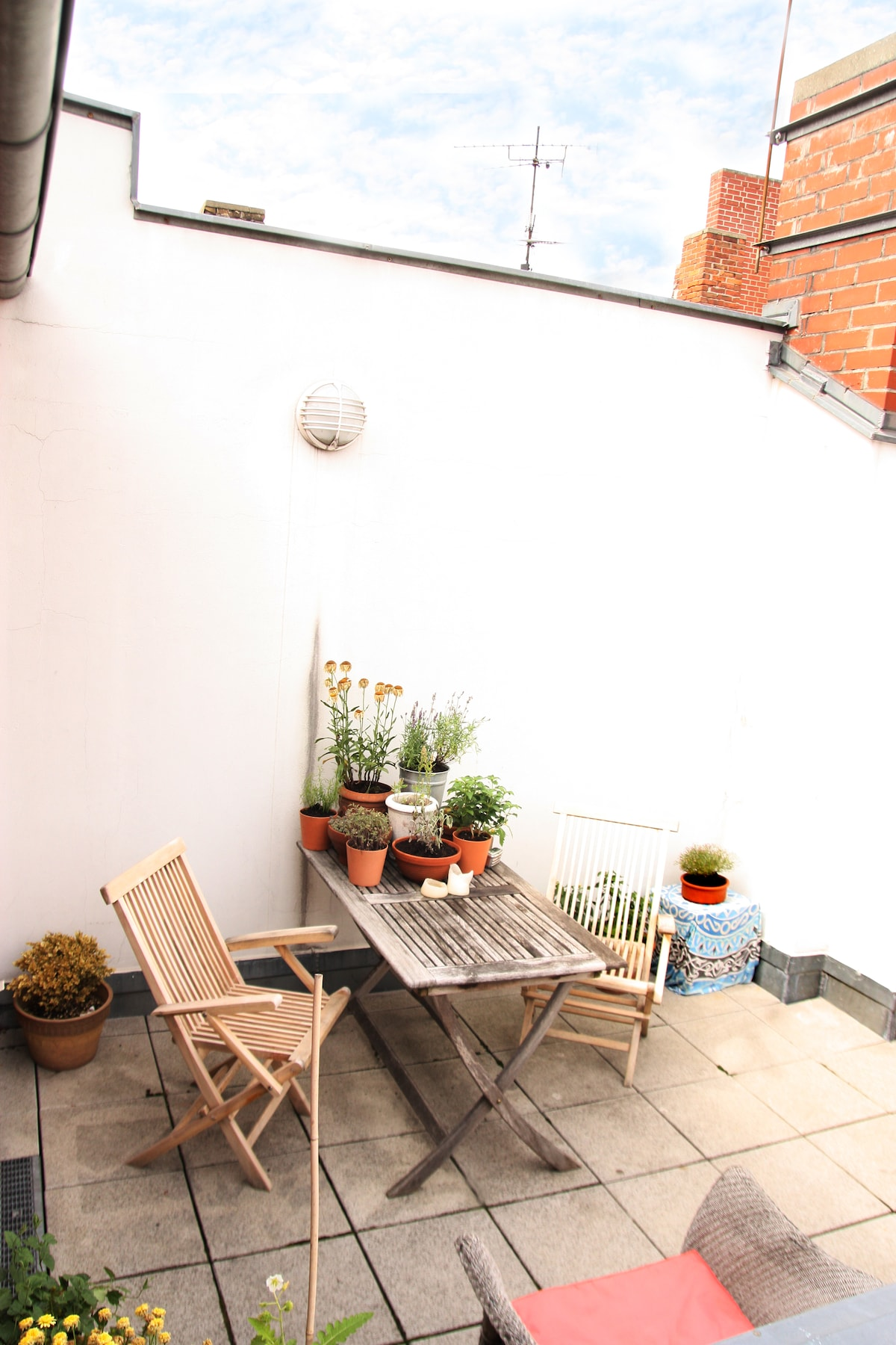 Sunny terrace appartment in Mitte