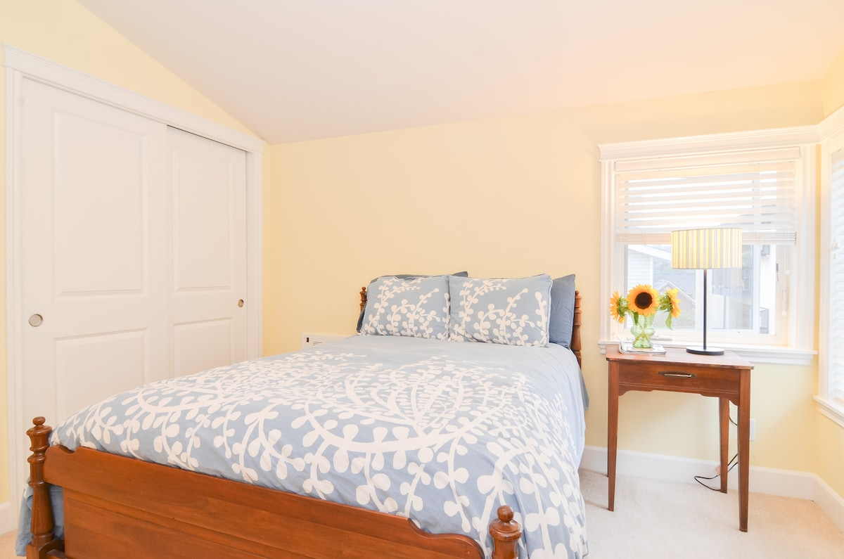 Private, comfortable guest room.