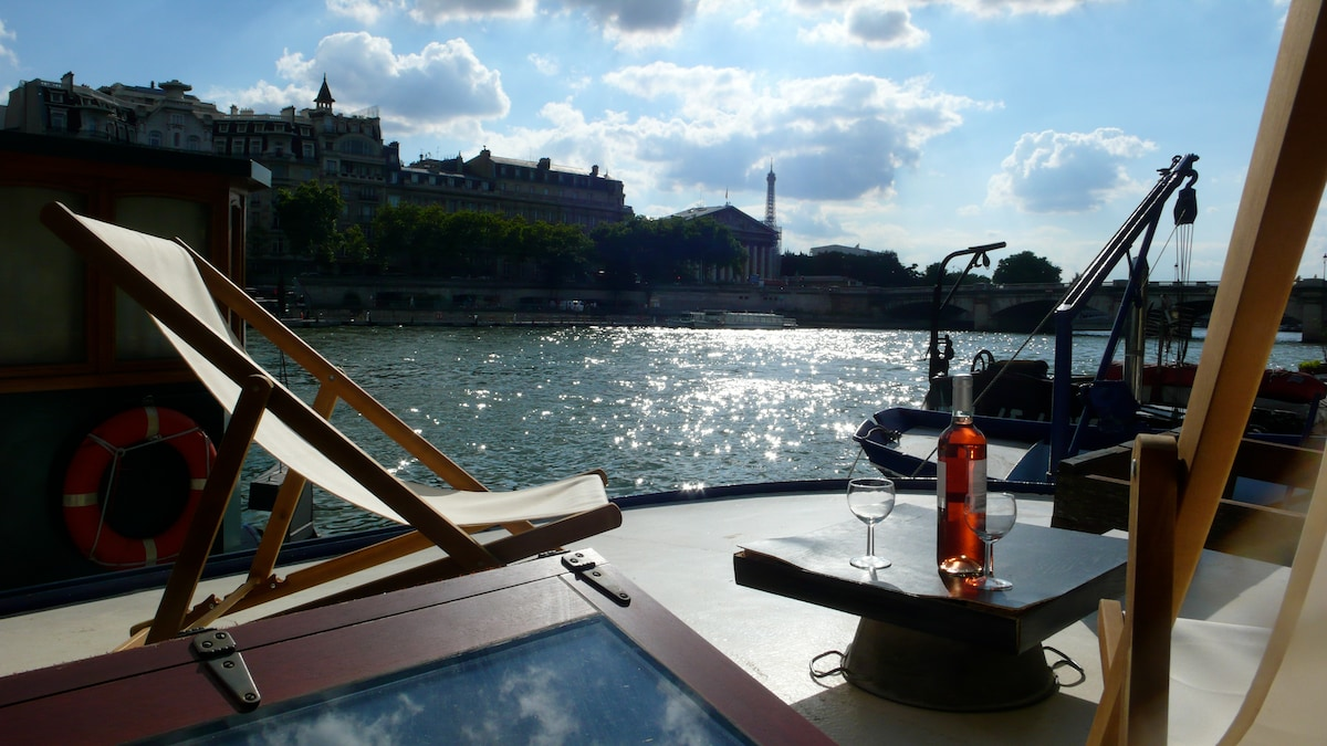 Pilar Too, Boat on the river Seine