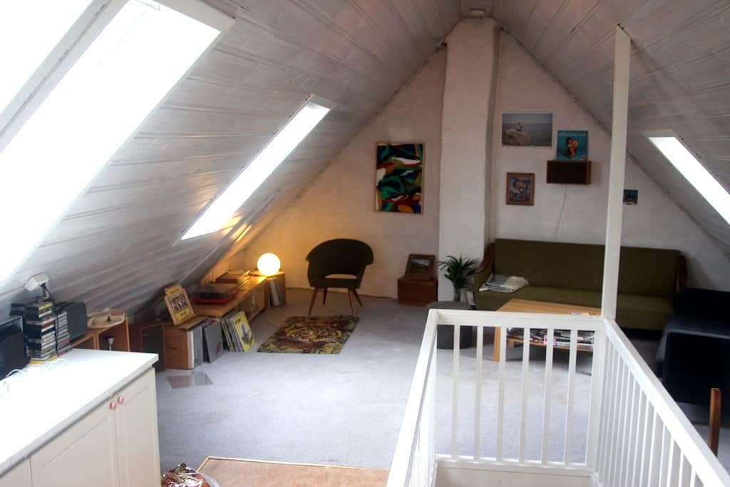 Nice room in cosy, central flat! - Bergen - Leilighet