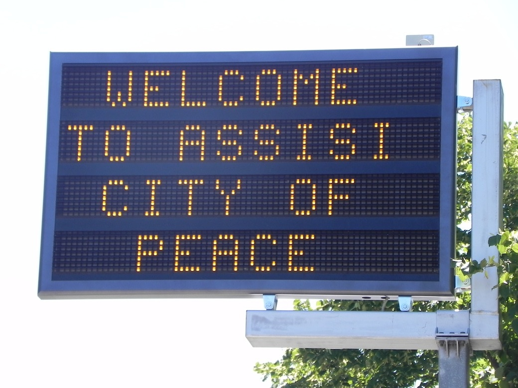 welcome to assisi city of peace