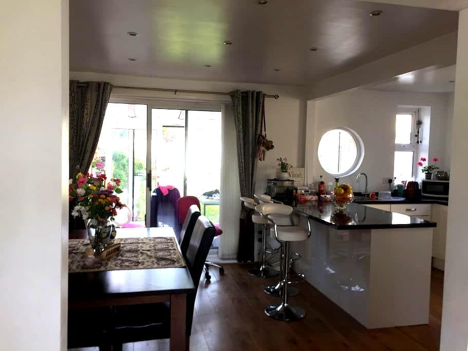Lovely loft double room - Plymouth - House