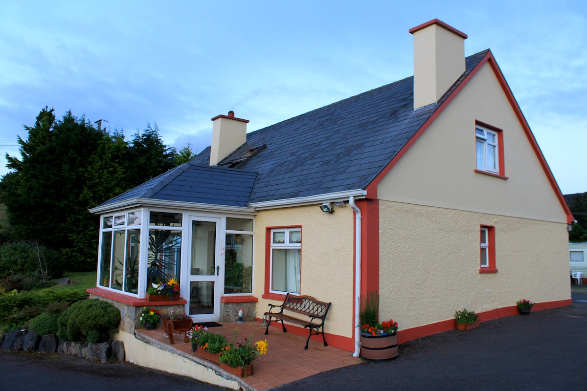 Beautiful traditional Donegal farmhouse.