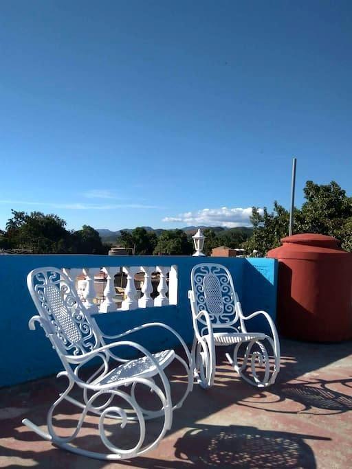 Hermosa habitación doble/triple 'Casa Mi Salsa' - Trinidad - Ház
