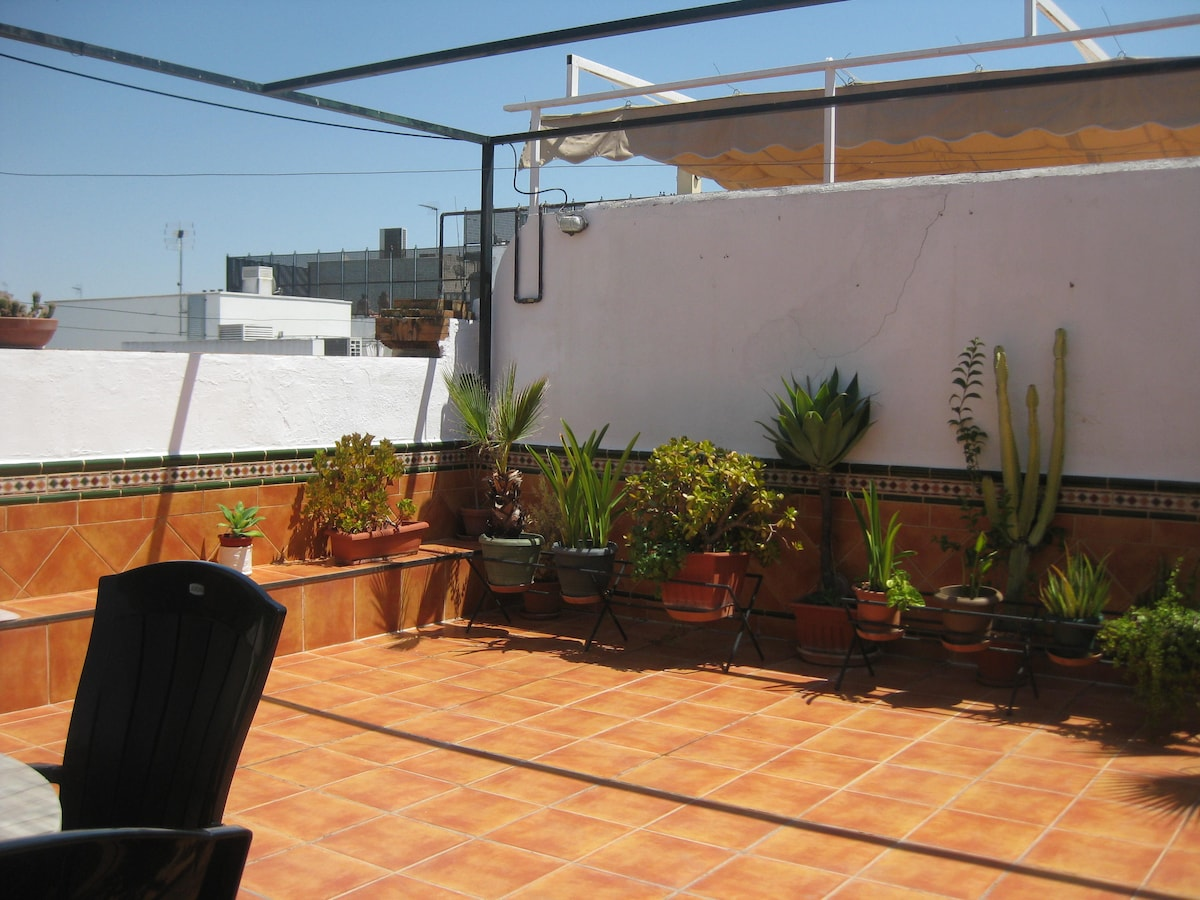 Beautiful apartment roofterrace
