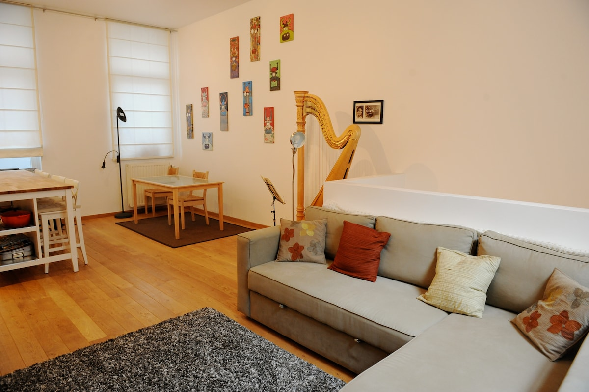 Modern, Charming 1 Bedroom Duplex