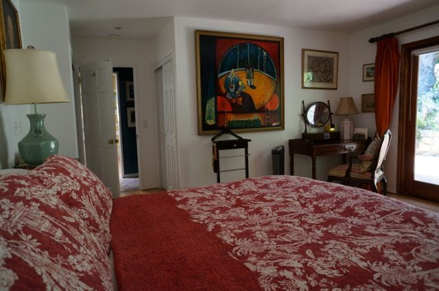 """Spacious bedroom with  """"private suite"""" feel"""