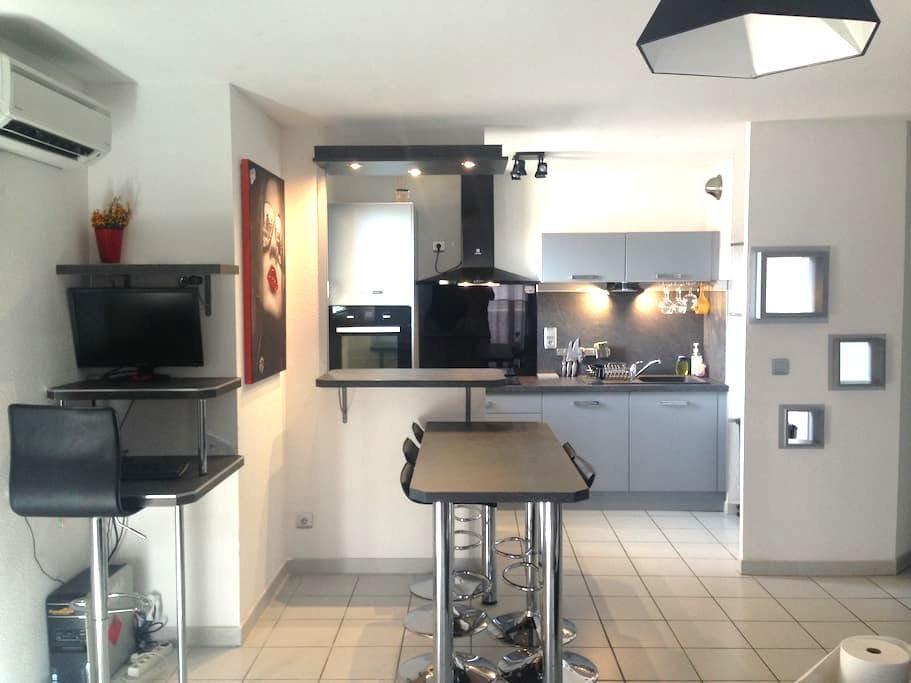appartement calme,belle vue - Saint-Estève - Appartement
