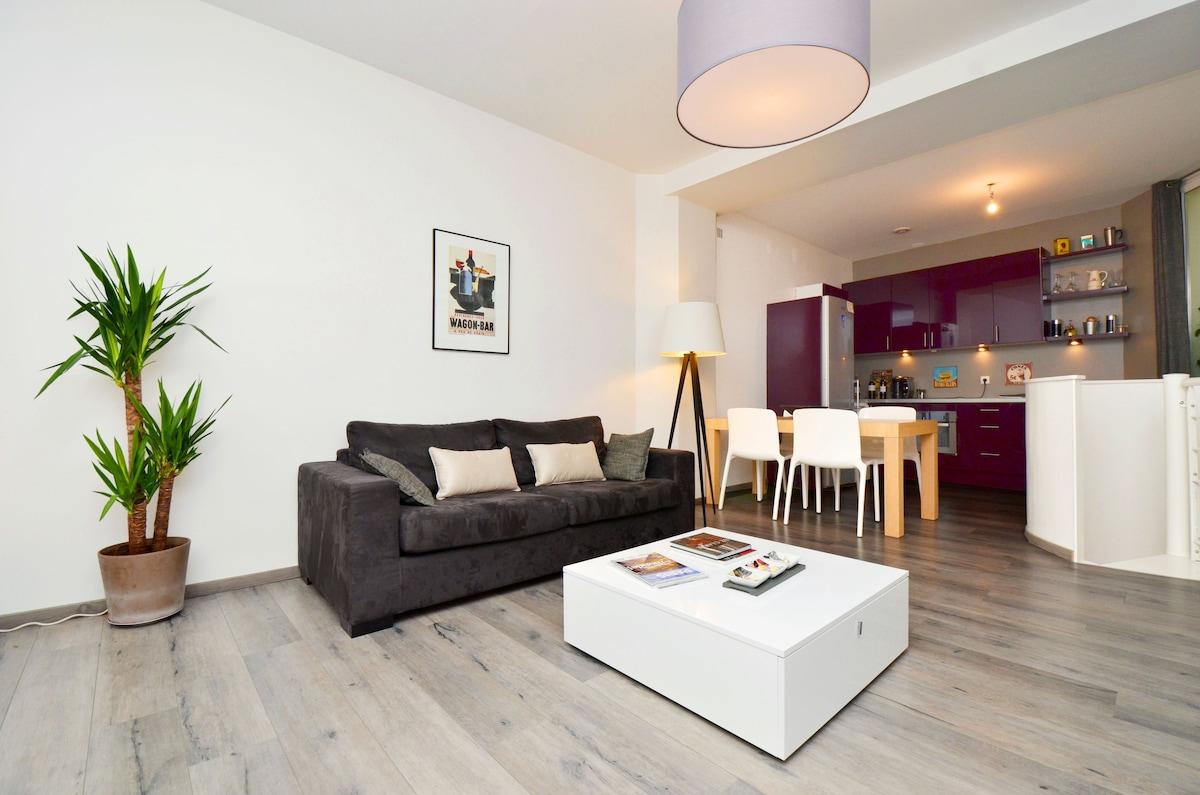 Paris whole cosy duplex 1-4 peoples