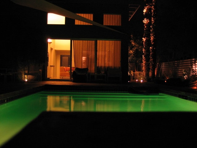 LED colorchanging pool/spa