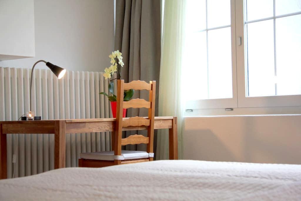 Helles, geräumiges Zimmer in St.Gallen - Sankt Gallen - Wohnung