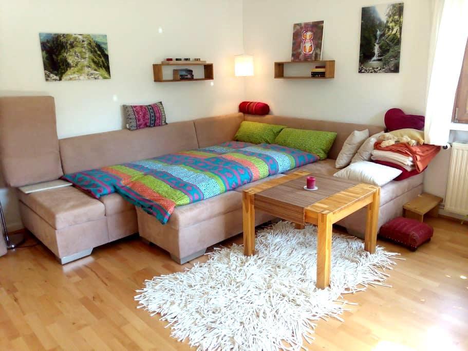 1 helles, ruhiges Zimmer, Bad- u. Küchenmitnutzung - Goslar - Byt