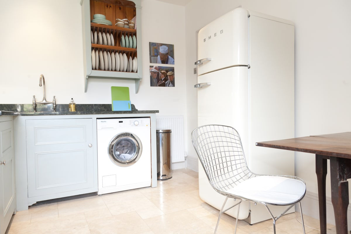Miele 1600 spin washing machine and Smeg Fridge/Freezer