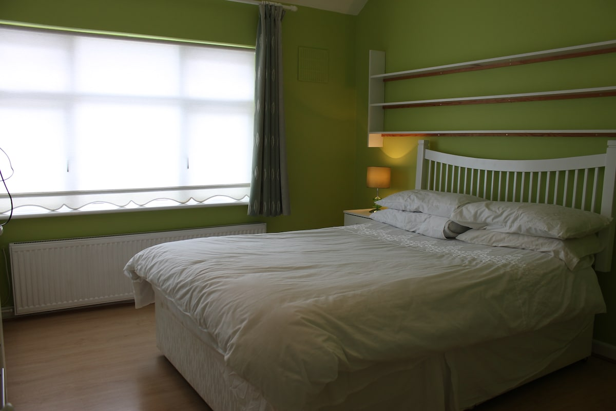 Large room with Double & Single bed