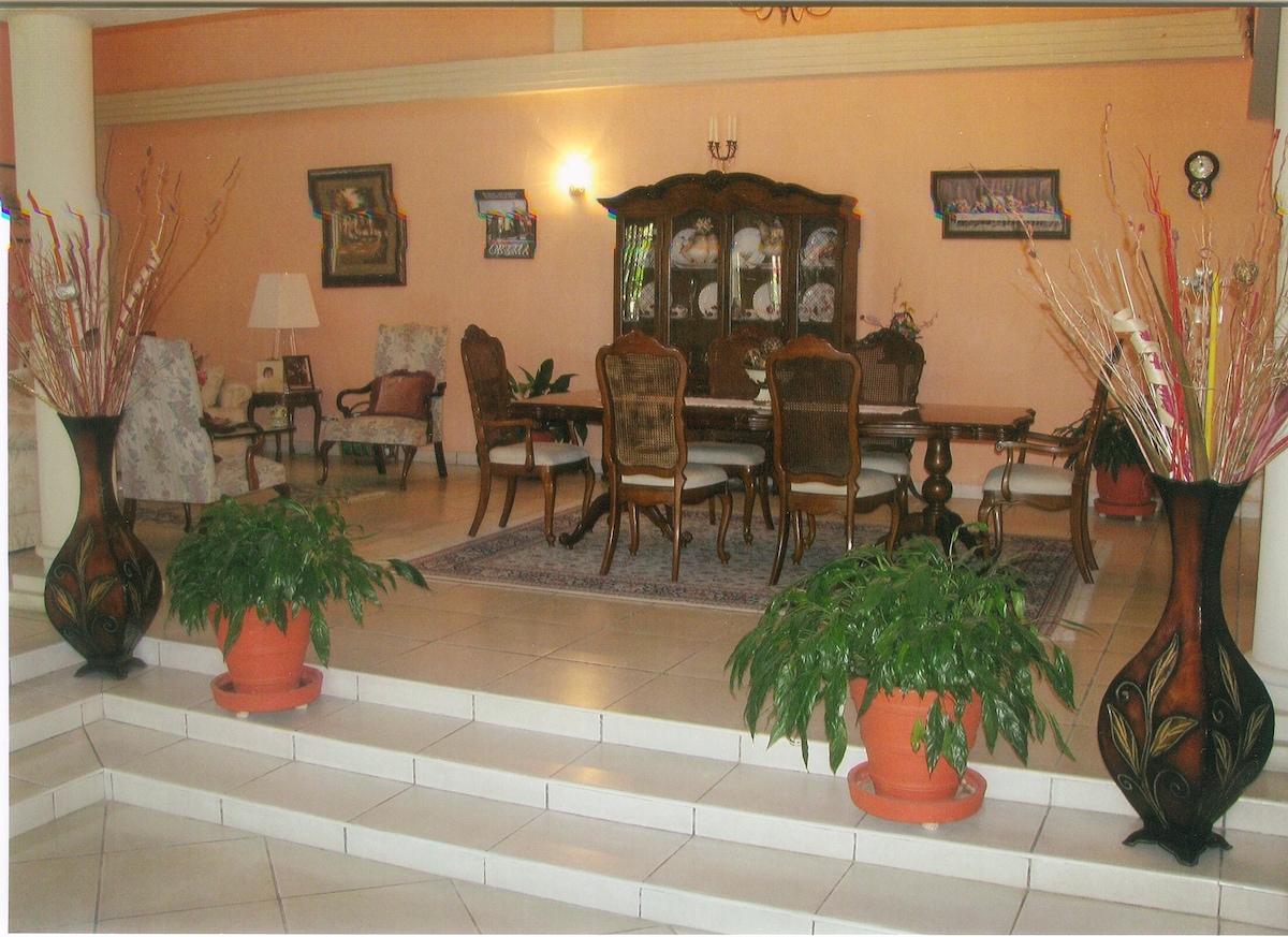 Formal Dining & Living Room Area