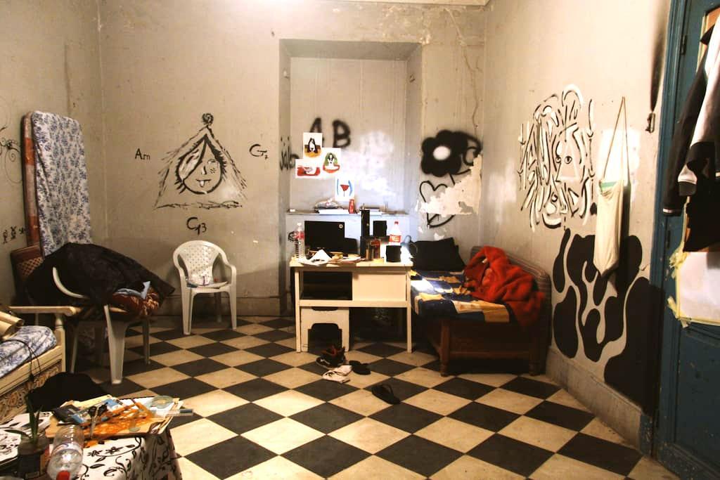 chambre d'hôtes en plein centre ville de Tunis - Тунис
