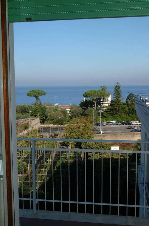 Sea-view from balcony