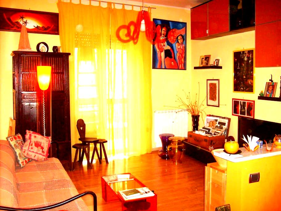 Warm and colorful apartment    - Napoli - Daire