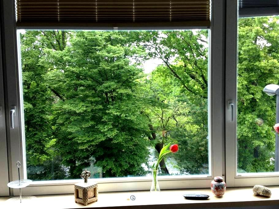 Charming room with great Parkview  - Bremen - Hus