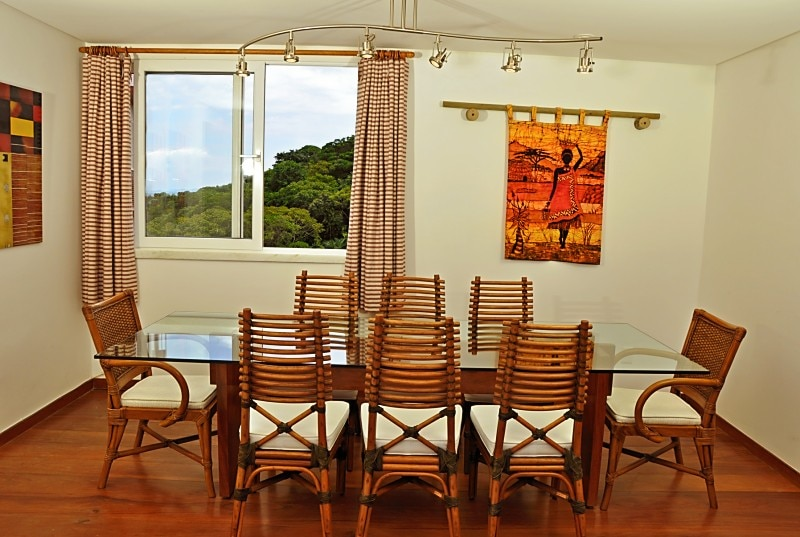 10th floor dining room, view of Atlantic forest