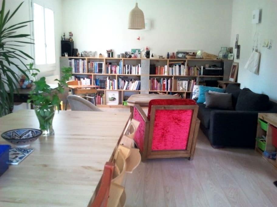 Maison familiale proche rivière - Vals-les-Bains - Casa