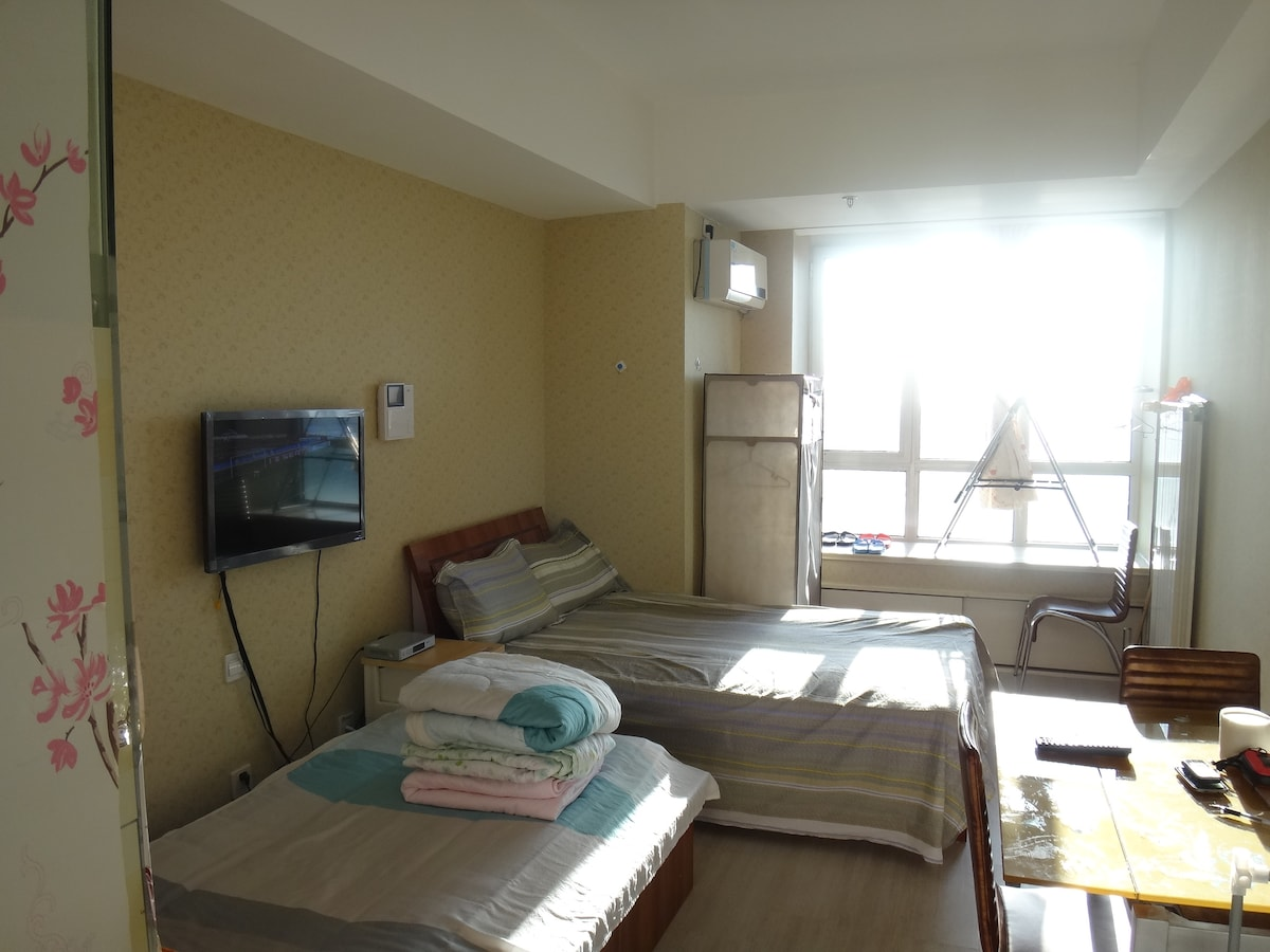 Modern 2 Bed Apt in Qingdao CBD