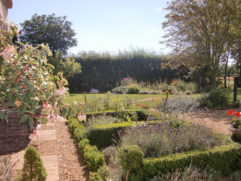 Pretty gardens for you to walk around