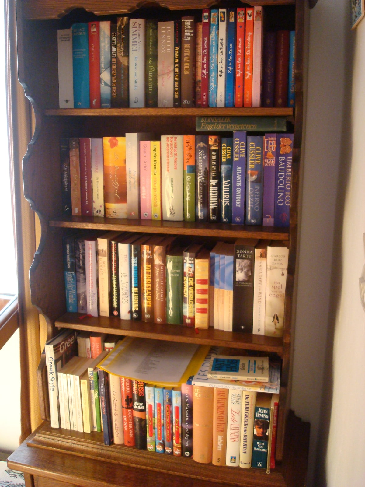 Library in guesthouse