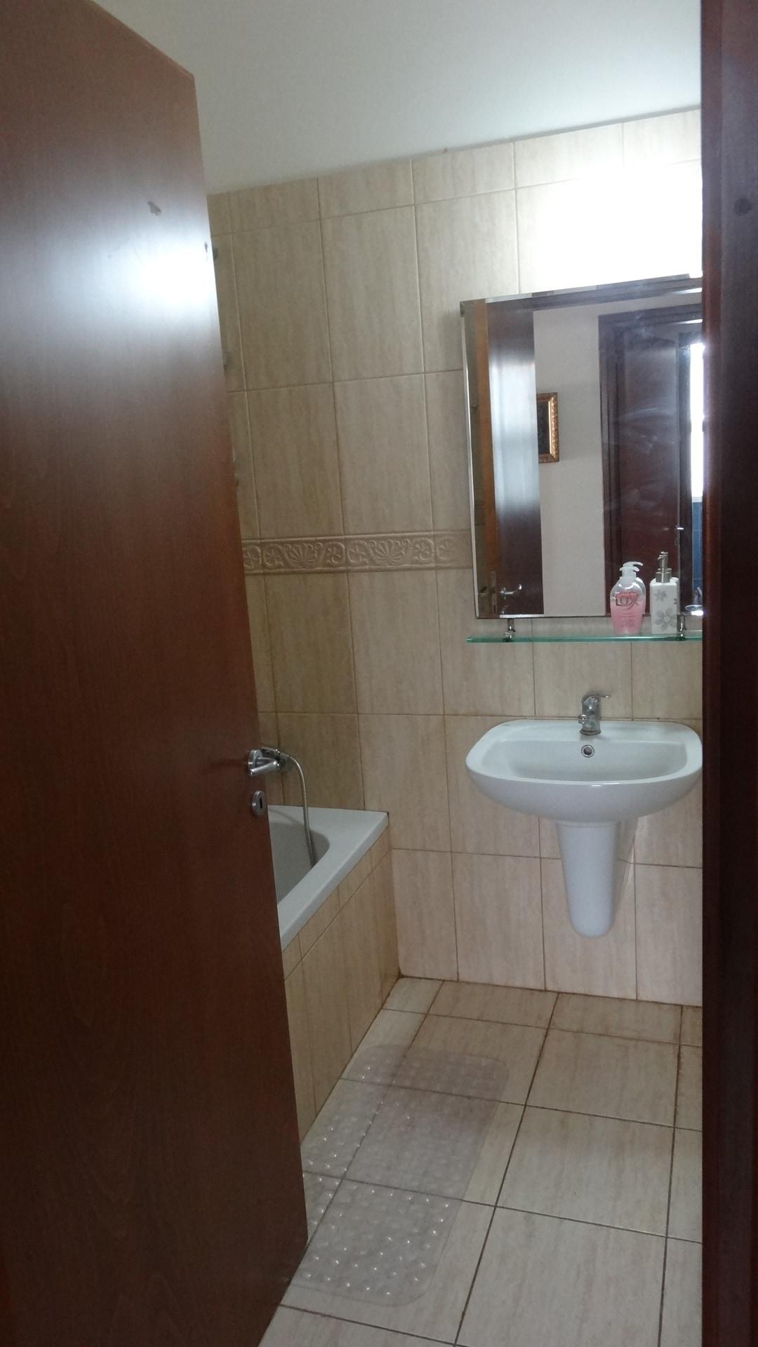 The bathroom view from door